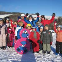 Kinderen en skileraren