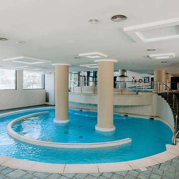 Binnenzwembad Hotel Deloix Aqua Center