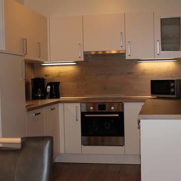 Voorbeeldkeuken Appartementen Jogglerhof