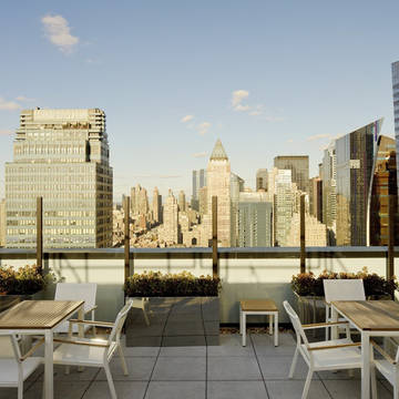 Dakterras Hotel Element Times Square West (by Westin)