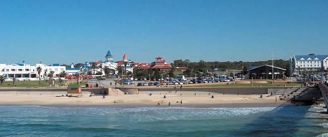 Hobbie Beach bij Port Elizabeth