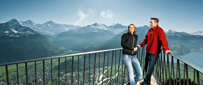 Eiger Mönch en Jungfrau