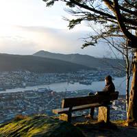 Uitzichtpunt Floien - Fotograaf: Øyvind Heen