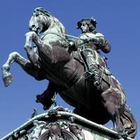 Standbeeld in Wenen