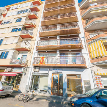 Vooraanzicht Appartementen AR Familly Europa Sun