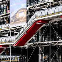Centre Pompidou, op ca. 20 minuten loopafstand van het hotel!