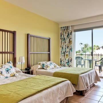 Voorbeeld Slaapkamer Hotel Caribe Resort (PortAventura)