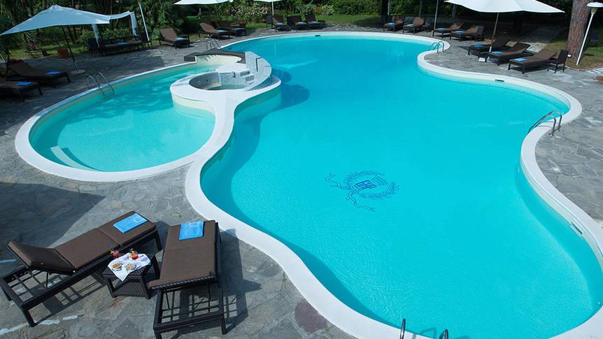 Zwembad Grand Hotel & La Pace