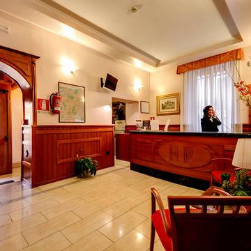 Receptie Hotel Parker