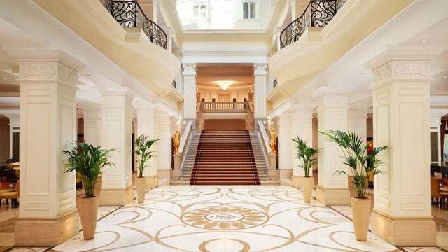 Entree Corinthia Hotel Budapest