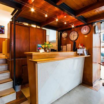Receptie Hotel Residencial Lar do Areeiro