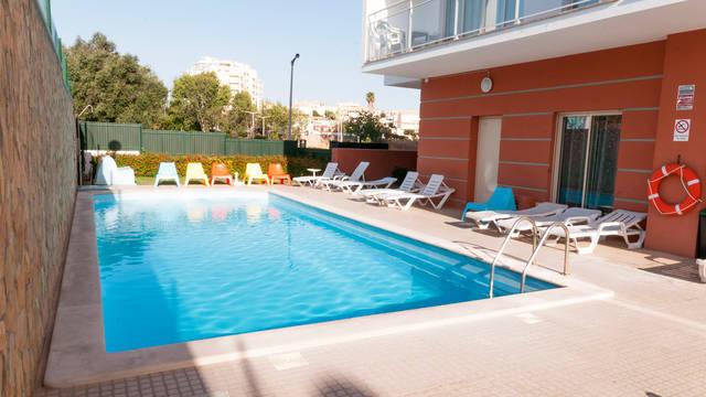 Zwembad Appartementen Studio 17