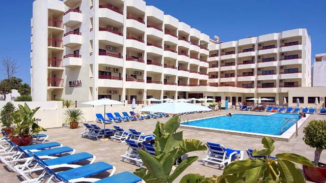 Exterieur Hotel Alba