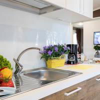 Voorbeeld keuken stacaravan