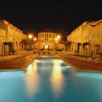 Appartementen bij nacht