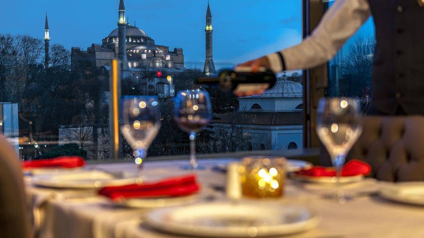 Restaurant Hotel Yasmak Sultan