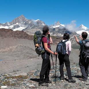 Wandelaars Zwitserland