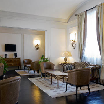 Lounge Hotel NH Firenze Anglo American