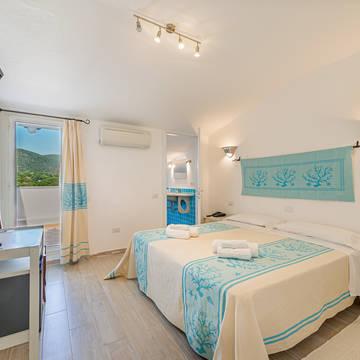 Voorbeeldkamer Balcony Room Hotel Le Mimose