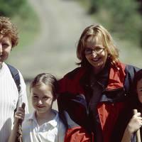 Familie in Wicklow - Glendalough