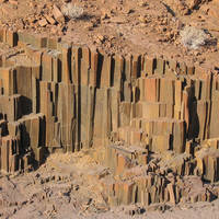 Namibie Damaraland - orgalpipes