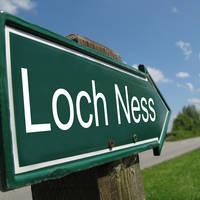 Bewegwijzering naar Loch Ness