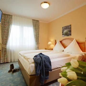 Voorbeeld 2-persoonskamer Bömers Mosellandhotel