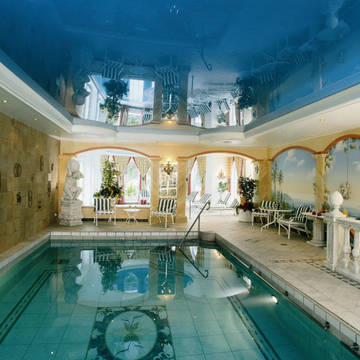 Overdekt zwembad Goebel's Landhotel Hotel Am Park