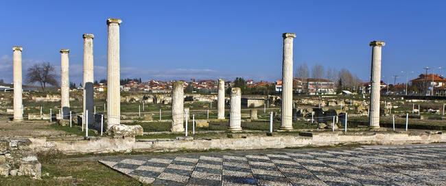 Pella - opgravingen oude stad