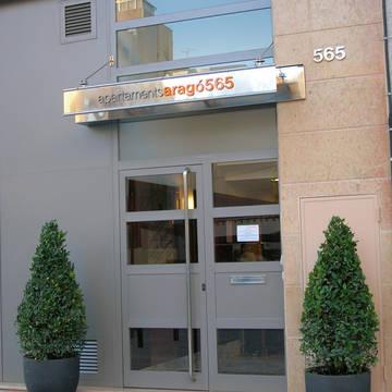 Entree Appartementen Arago565