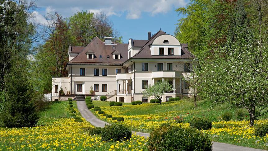 Buiten aanzicht Hotel Villa Toscana