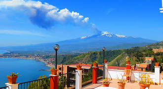 Uitzicht Etna