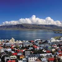Stadsbeeld Reykjavik