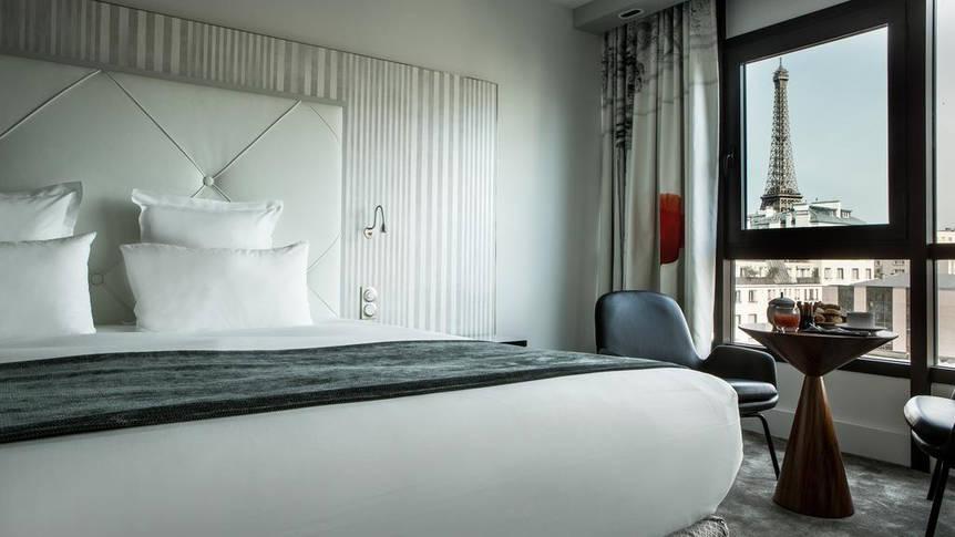 Kamer Hotel Le Parisis