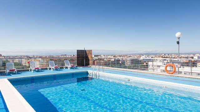 Zwembad Hotel Expo