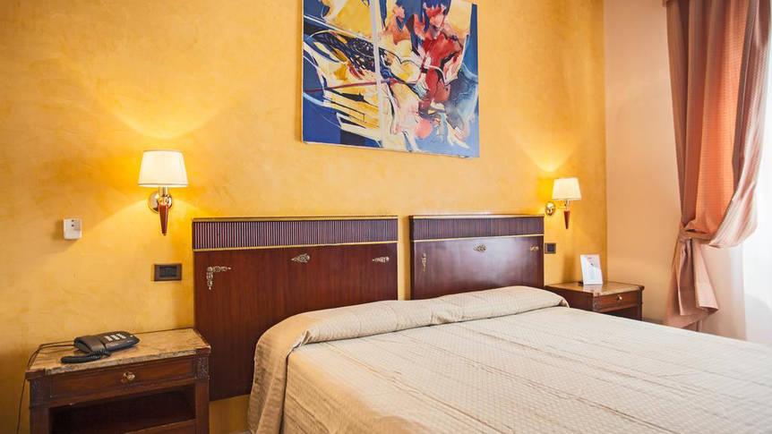 Voorbeeld economy kamer Hotel La Pace