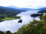 Pitlochry, Loch Tummel - Queens View