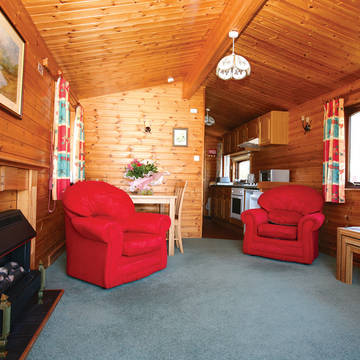 Woonkamer Lochy Holiday Park