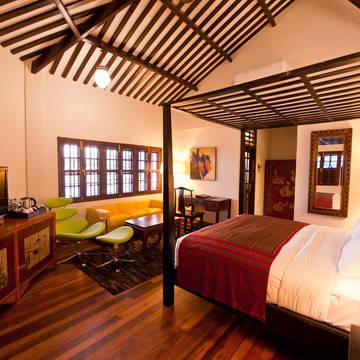 voorbeeldkamer deluxe Penaga hotel