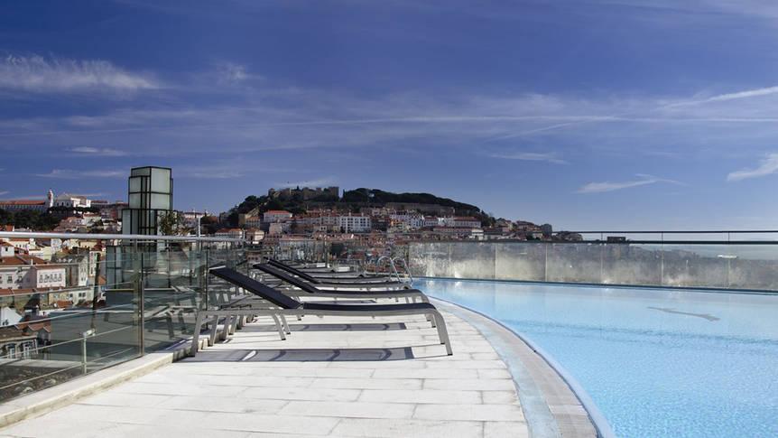 Zwembad VIP Executive Eden Aparthotel (appartementen)