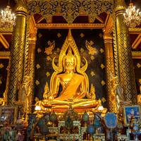 Phra Buddha Chinnarat at Phra Si Rattana Mahathat