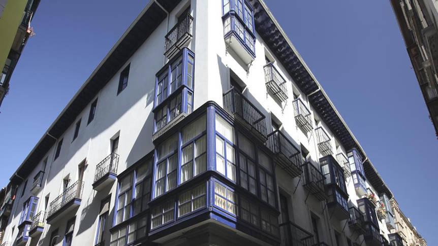 Voorzijde Hotel Casual Bilbao Gurea