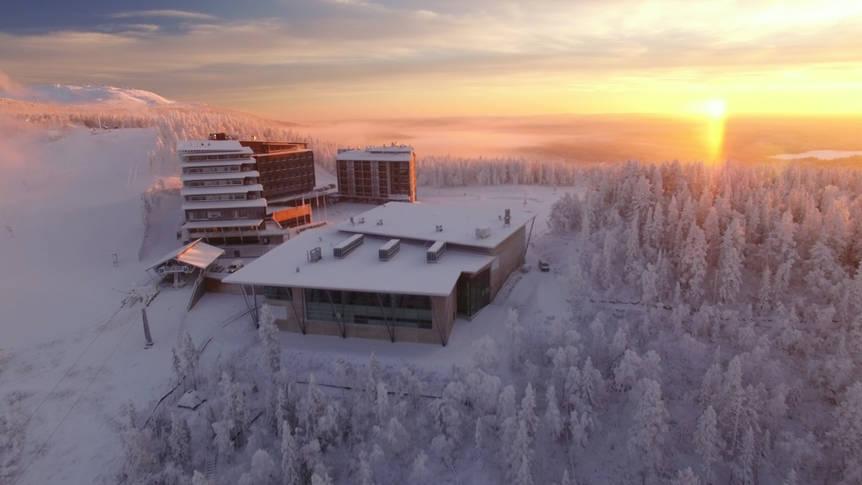 Exterieur Hotel Levi Panorama & Appartementen