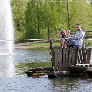 Vlot Vakantiepark Center Parcs De Huttenheugte