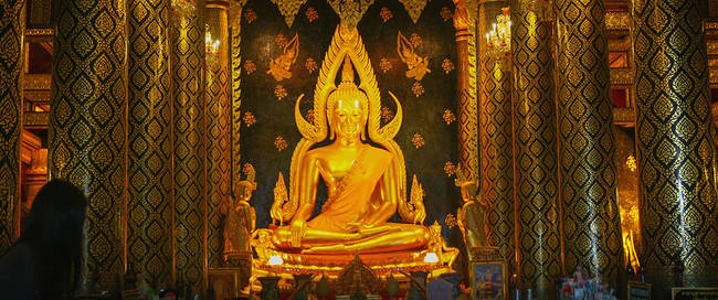 Boeddha beeld in Phitsanulok