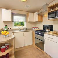 Voorbeeld keuken 3-kamerstacaravan