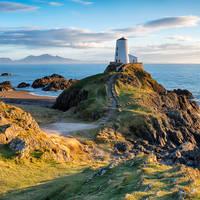 Anglesey, Llanddwyn Island - Twr Mawr vuurtoren