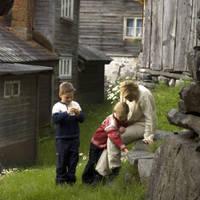 Familie in Maihaugen