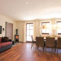 Voorbeeld chalet woonkamer