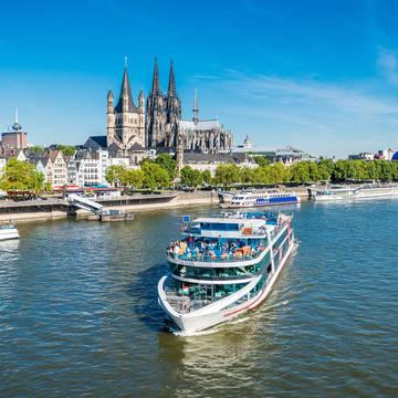 Keulen boottocht Am Rhein